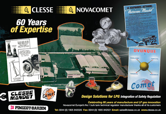 Novacomet Celebrating 60 Years of Expertise - Clesse UK