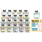 Pete The Cat Numbers 0 to 20 Bulletin Board Set - Teacher Created