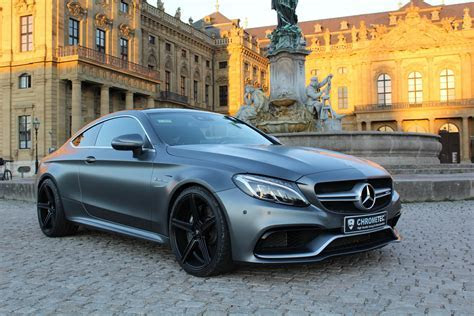 Chrometec Gives Mercedes AMG C63 Coupe A Stylish Makeover