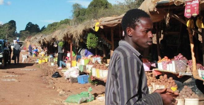 El precio de los alimentos se ha disparado en los mercados de Nanyuki (Pablo L. Orosa)