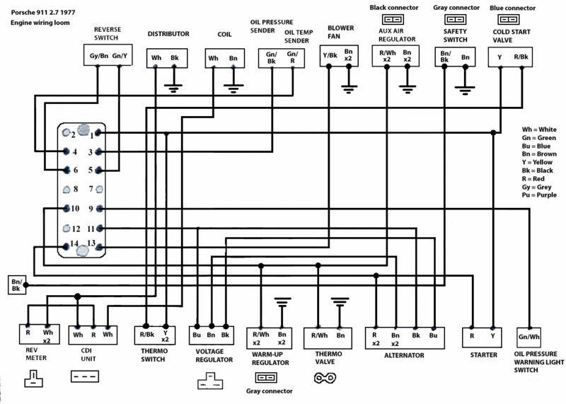 Diagram Porsche Wiring Diagram 911 1973 Full Version Hd Quality 911 1973 Schematictv2h Romaindanza It