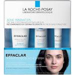 La Roche Posay Effaclar Dermatological 3-Step Acne Treatment System - 7.5oz