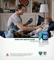 New Drew Brees ad for Vicks VapoRub.