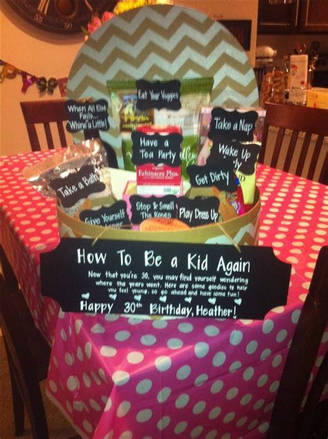 25  Best Ideas about 30th Birthday Presents on Pinterest