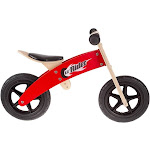 Lil Rider 80 Jb003 Wooden Balance Bike Ride on with Easy Grip Handles