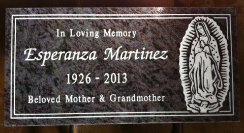 Last Date Inscription for Your Headstone or Monument