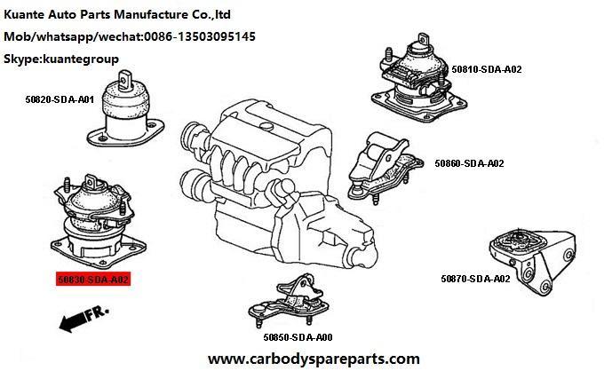 2003 Honda Accord V6 Motor Mounts View All Honda Car Models Types