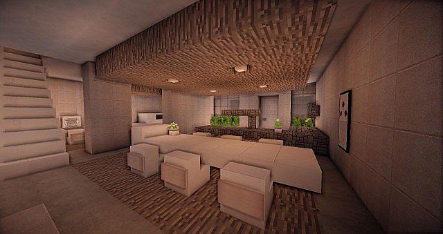 Inspiration 28 Modern House Minimalist Design Minecraft