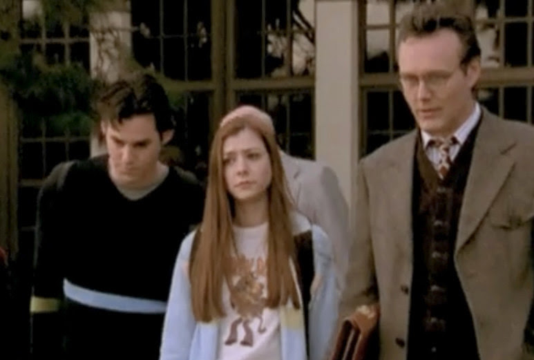 10. The actors who played Xander and Willow are as old (or older in Xander's case) as Anthony Head was when he first played Giles.
