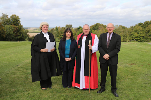 Bishop consecrates extension of Magdalen Hill Cemetery