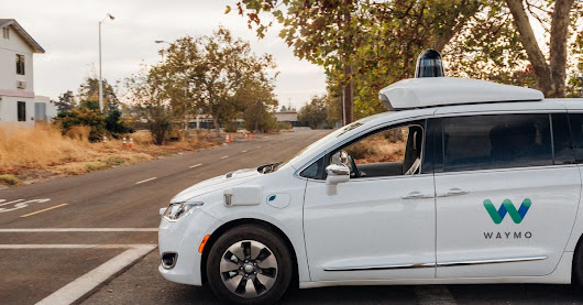 Waymo gave me a ride in a car with no driver