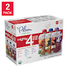 Campbell Sales Company Plum Organics Mighty 4 Blends Variety, 2-Pack