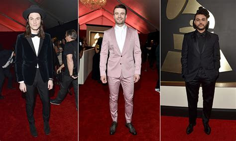 The most stylish men on the GRAMMYs red carpet   HELLO! Canada