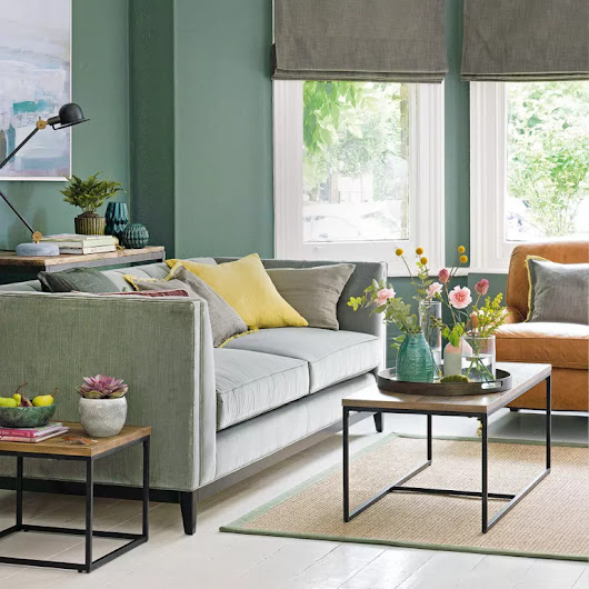 Green living room ideas for soothing, sophisticated spaces