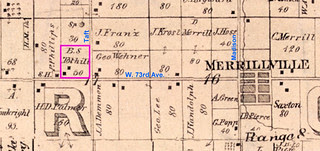 Toothill land 1874