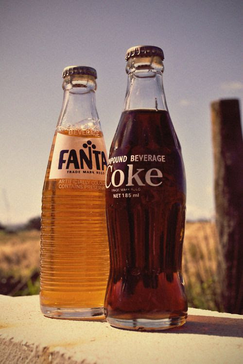 Coke and Fanta