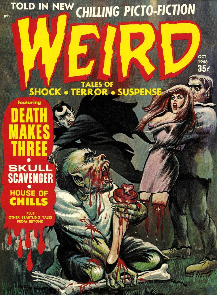 Weird Vol. 02 #9 (Eerie Publications, 1968)