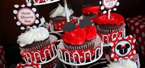 Kara's Party Ideas Mickey & Minnie Mouse Themed First