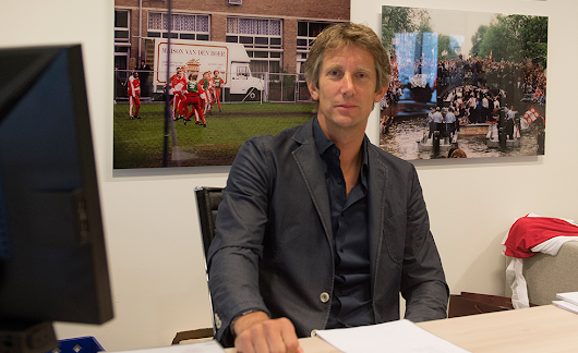 How Edwin van der Sar went from goalkeeping giant to marketing director