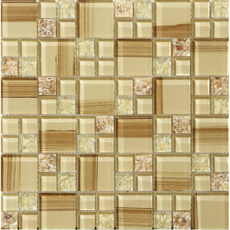 crackle glass tile hand paint cystal glass resin with ...