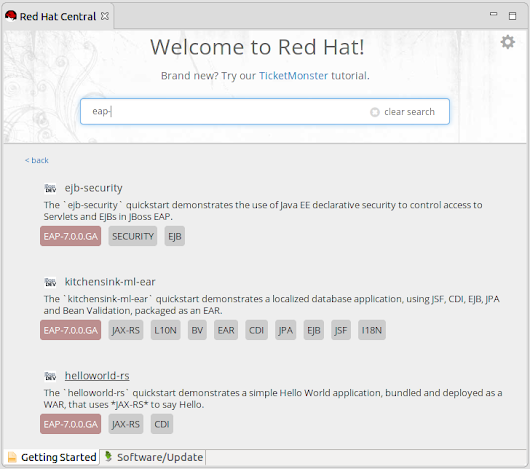 JBoss Tools - JBoss Tools and Red Hat Developer Studio for Eclipse Neon