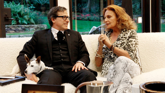 The Director David O. Russell and the Designer Diane von Furstenberg Discuss the Creative Process in Film and Fashion
