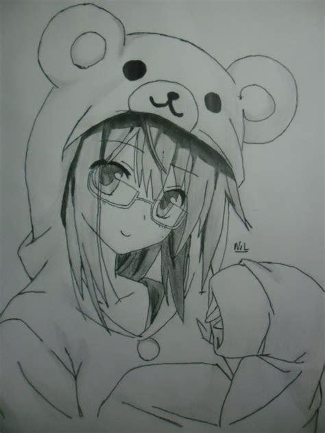 images  anime girls glasses  pinterest
