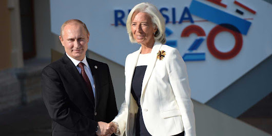 Russia is creating a $100B rival to the IMF