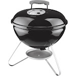 Weber Smokey Joe 10020 Portable Charcoal Grill, Black. 14""