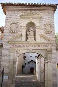 Monasterio de Santa Isabel la Real, Granada