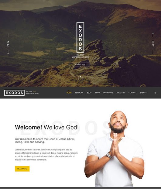 25+ Best Church Wordpress Themes for Churches, Parishes and Religious 2017