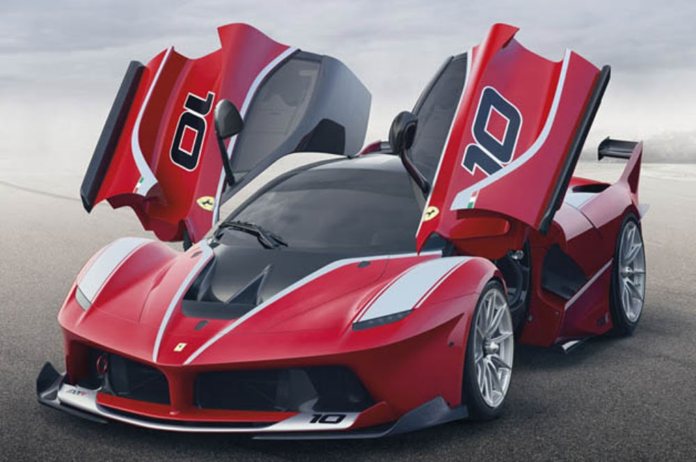 Ferrari's new model - the FXX K