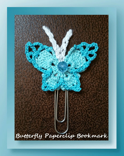 Butterfly Paperclip Bookmark