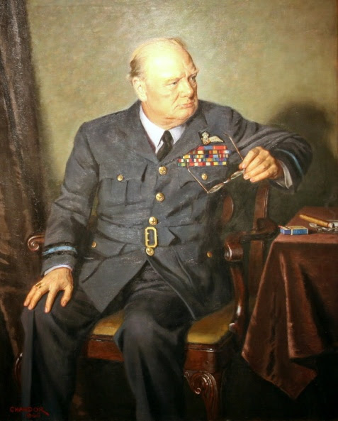 Douglas Granville Chandor - Winston Churchill