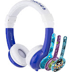 Onanoff BP-EX-FD-BLUE-01-K Foldable Durable & Comfortable Built in Headphone with In Line Mic - Blue