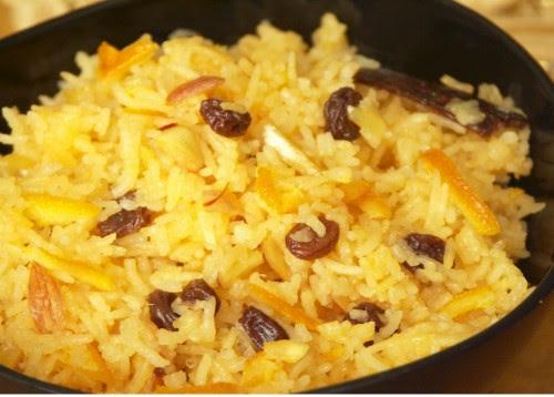 Zarda: Sweet Saffron Rice | eCurry - The Recipe Blog
