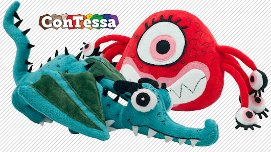 Plush ConTessa Mascots