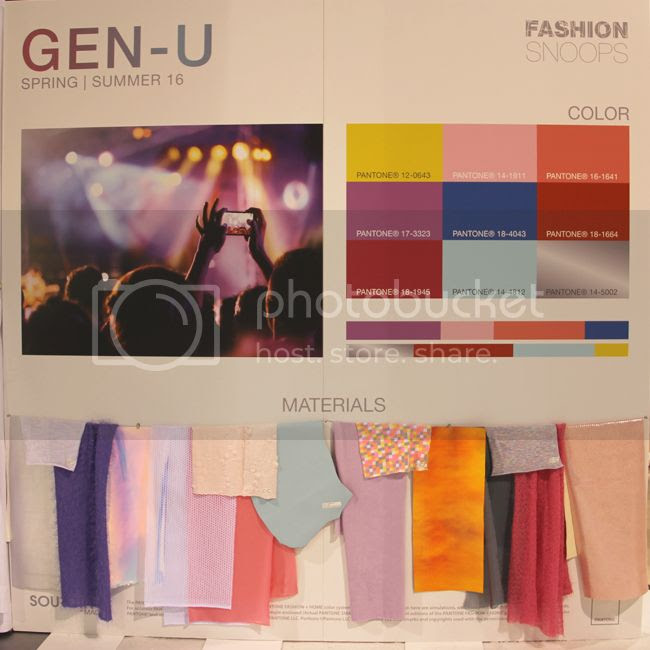 Gen-U fashion trend forecast spring summer 2016