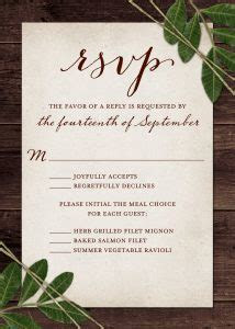 Wedding RSVP Wording and Card Etiquette   Shutterfly