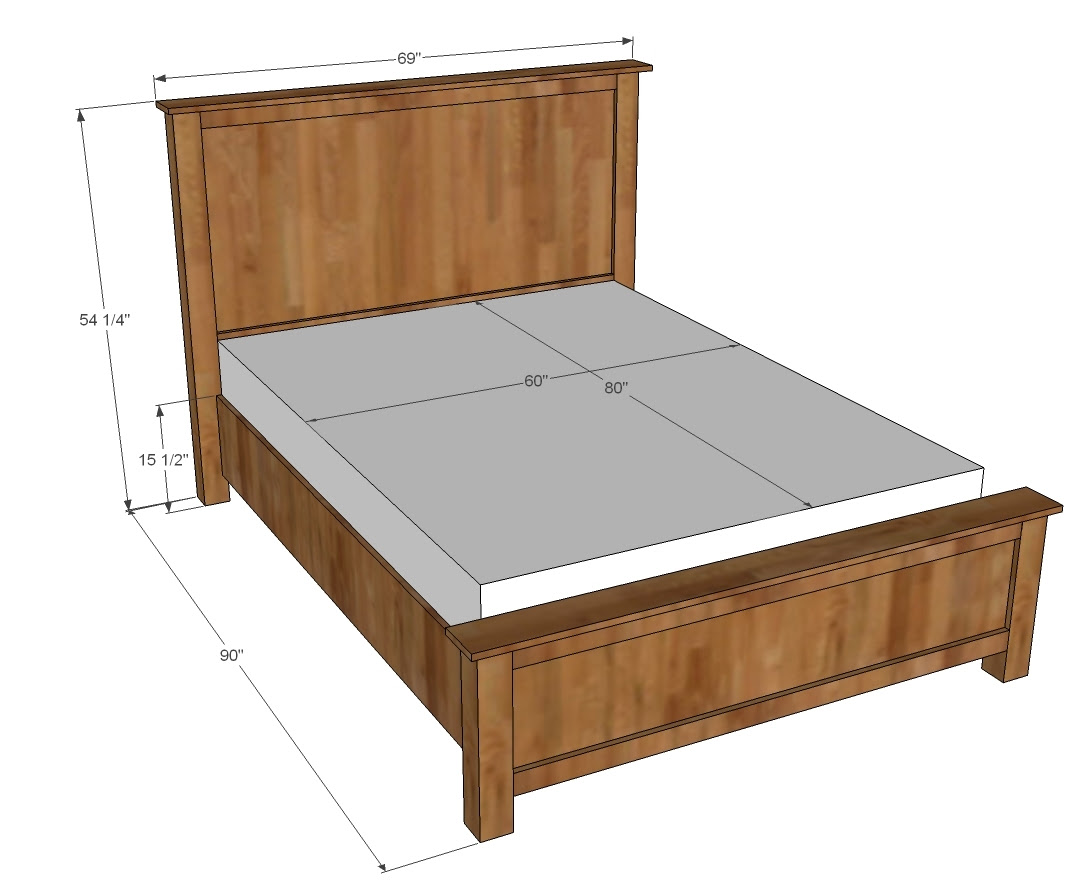 Woodworking Plans For Queen Size Bed Get Tools