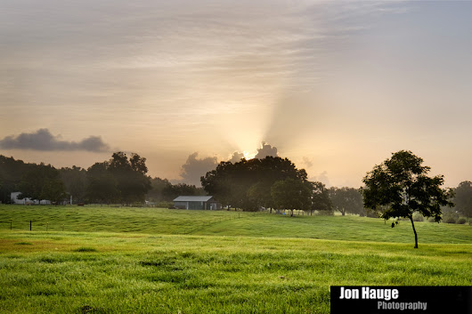 Baldwin County Landscapes | Silverhill Sunrise