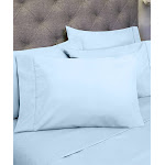 Sweet Home Collection Sheet Set Aqua Six-Piece Microfiber Sheet Set RV Short Queen