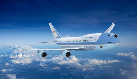 Boeing 747-8 de la Fuerza Aérea Uno