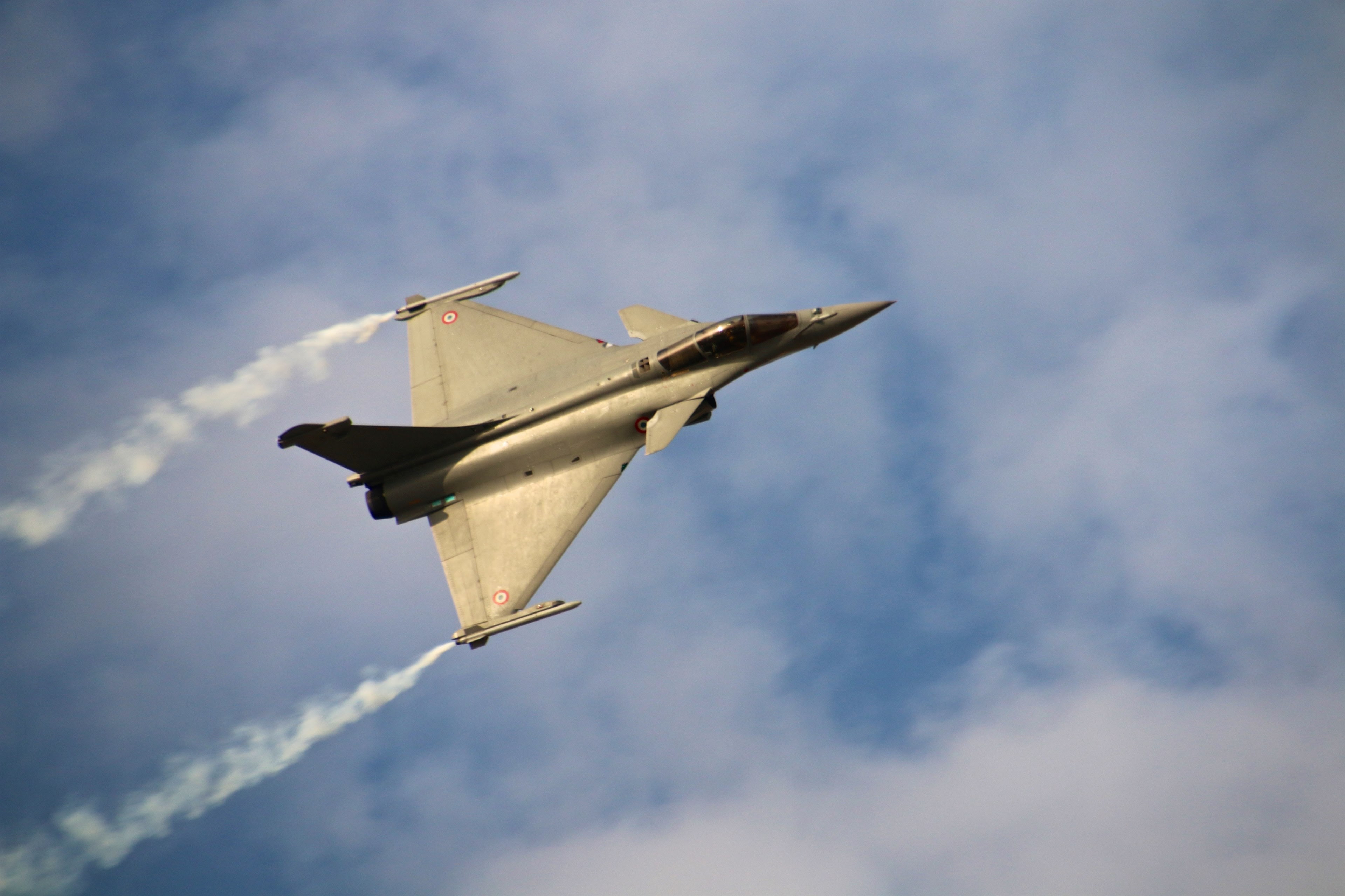 rafale fighter at dubai airshow 2015 4k wallpaper and ...