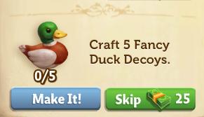 Silly Little Duckling - FarmVille 2