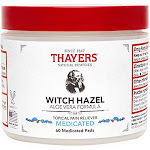 Thayers - Witch Hazel; Medicated Pads 60 Pads