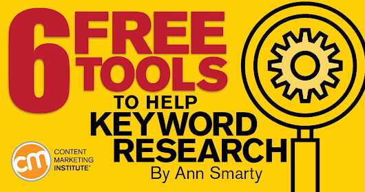 6 Free Tools to Help Keyword Research