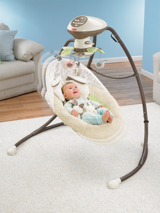 Fisher-Price Snugabunny Cradle 'N Swing