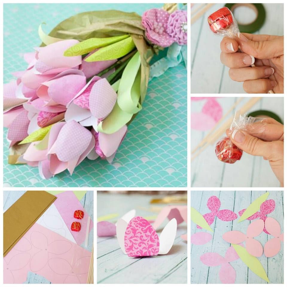 Anneler Günü çiçek çikolata Buketleri