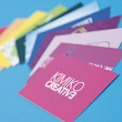 Grand Suede Business Cards |